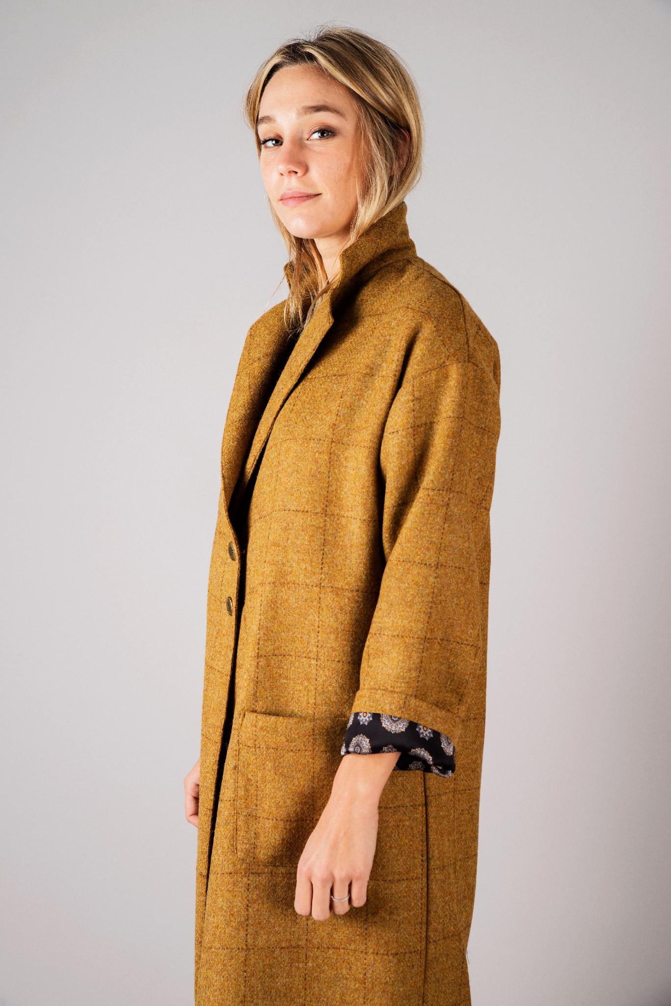 Manteau Dany jaune