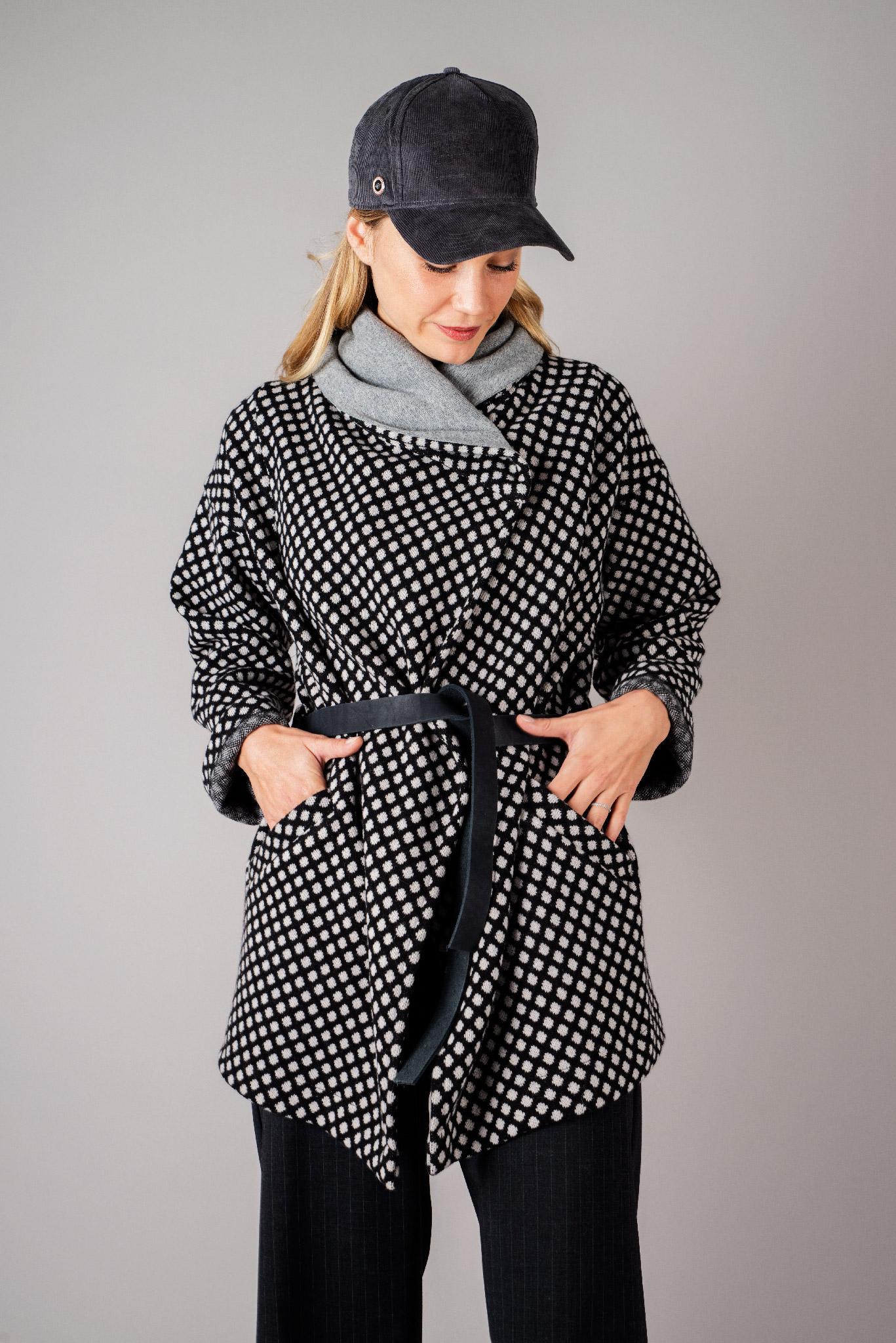Manteau à pois