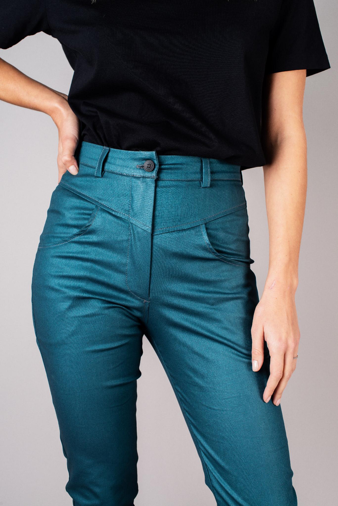 Pantalon jean bleu
