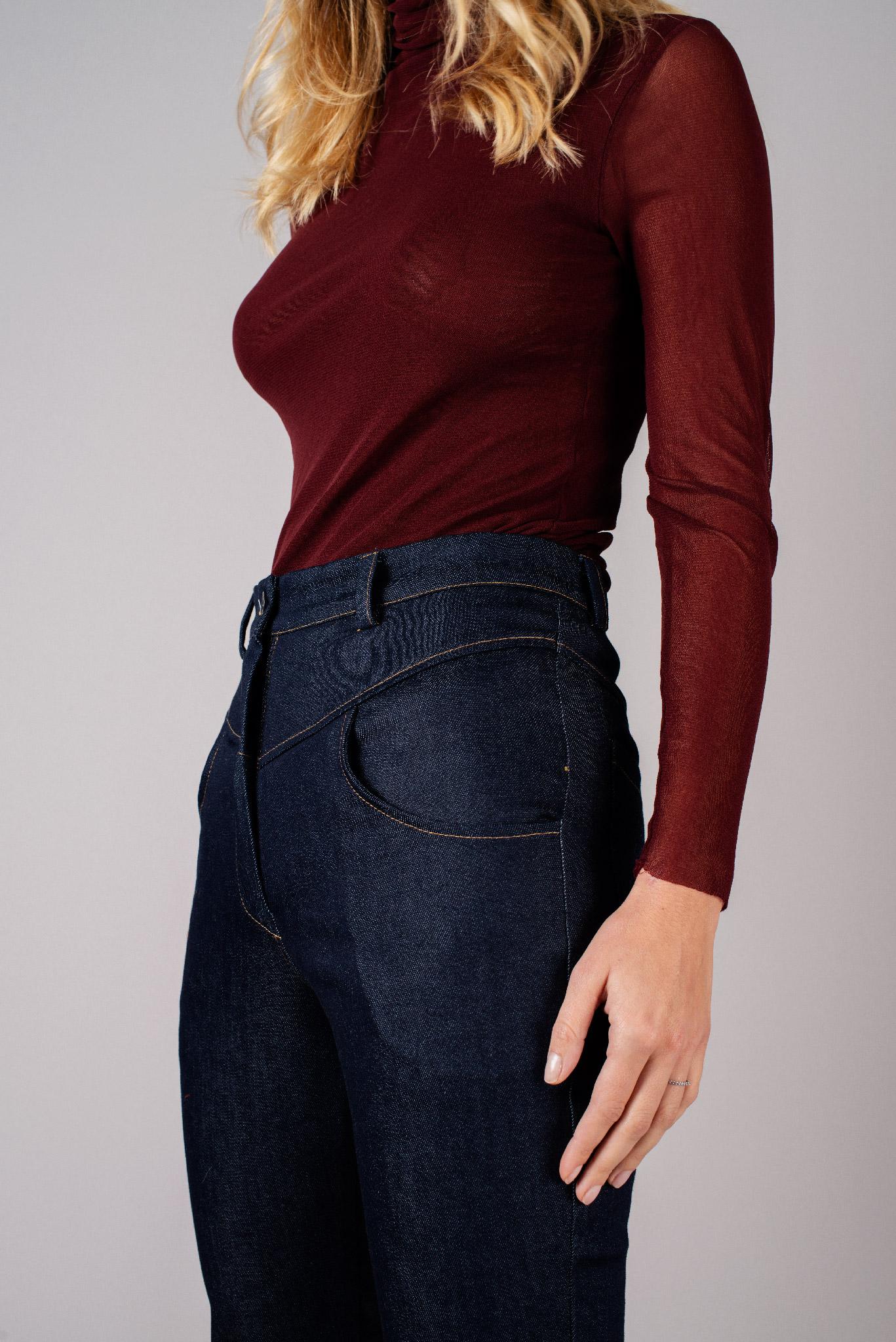 Pantalon jean brut