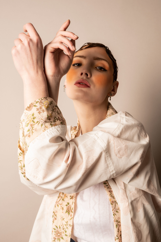 Kimono Blanc