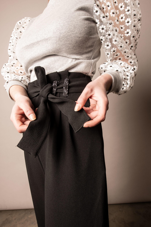 Pantalon Eva Noir